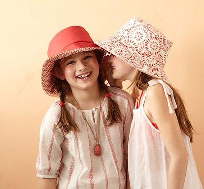 модная шляпа с полями