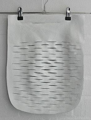 Выкройка кожной сумки