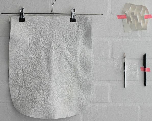 Материалы для шитья кожаной сумки