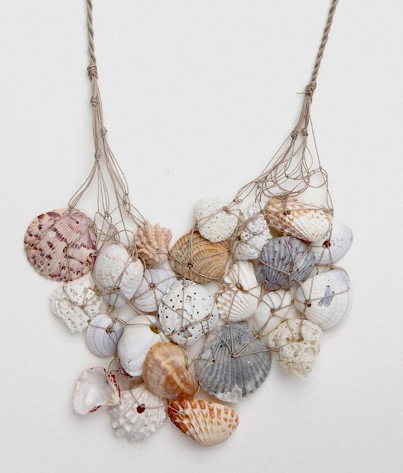 Ожерелье своими руками из ракушек 647