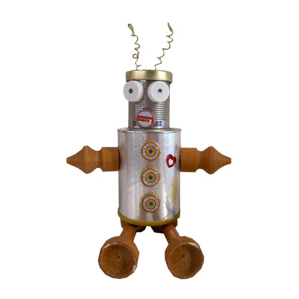 Поделка в школу робот 35