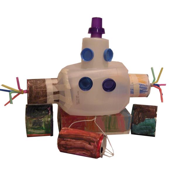 Роботы из банок