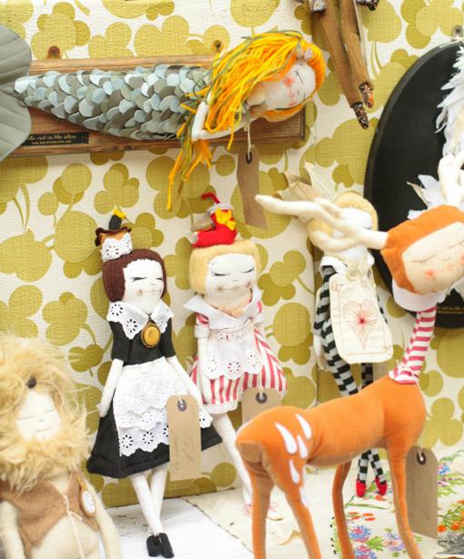Куклы игровые текстильные