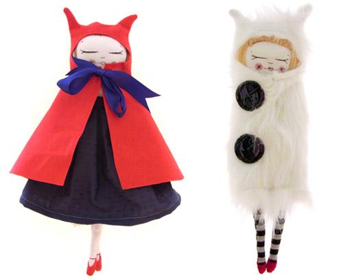 Самодельные текстильные куколки