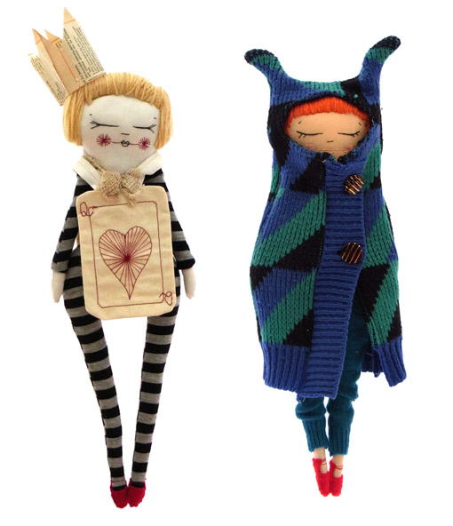Тряпичная куколка принцесса и нищенка