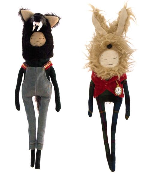 Оригинальные текстильные куколки