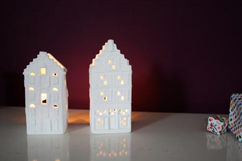 Своими руками домик-светильник