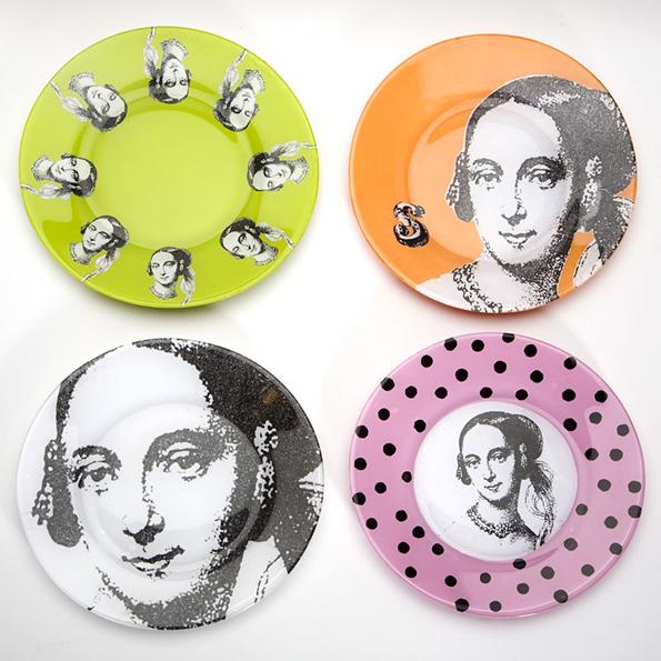 Декорируем тарелку в технике декупаж