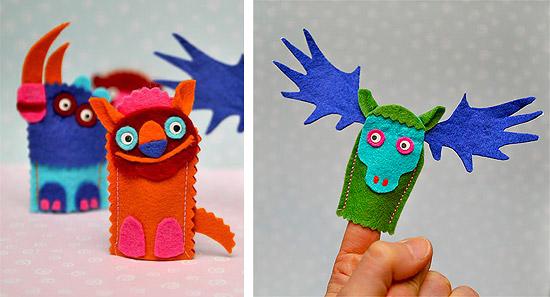 Как сделать игрушки для пальчикового театра