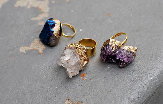 Кольцо с камнем своими руками