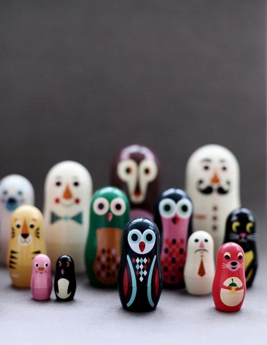 Матрешки-игрушки для детей