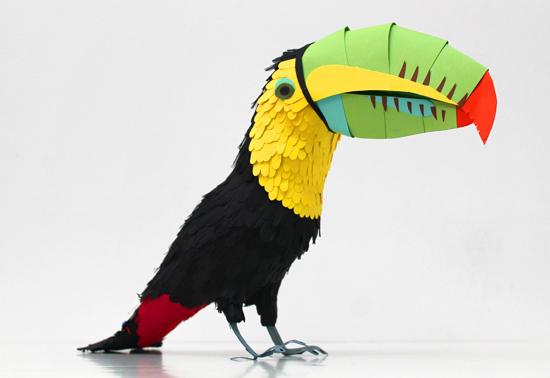 Конструирование птицы из бумаги своими руками