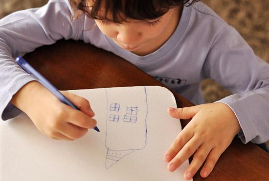 урок рисование - гравюра для детей
