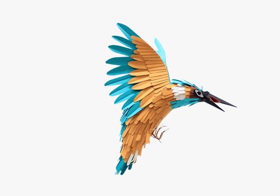 Поделки птицы из бумаги
