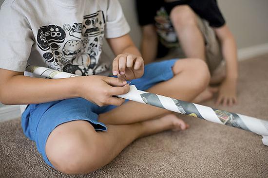 Детские игры своими руками
