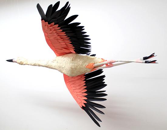 Объемные поделки птицы из