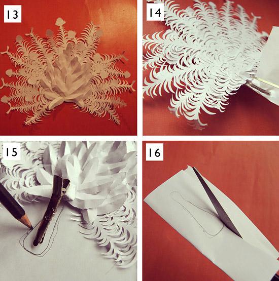 Как сделать из бумаги птицу павлина
