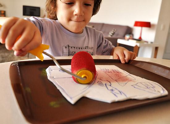 Техника рисования гравюры для детей