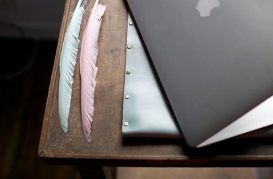 Чехол для планшета и ноутбука из кожи своими руками