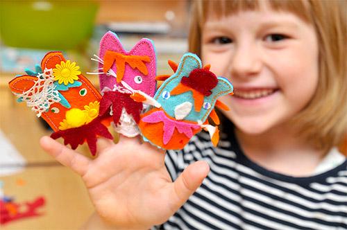 Развивающие игрушки детям своими руками