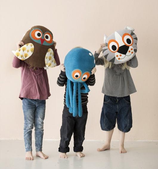 Подушки игрушки для детей