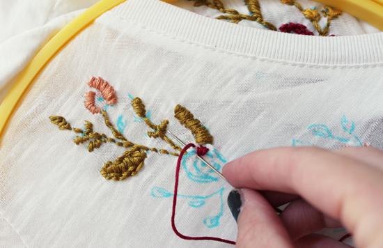 Мастер класс вышивка гладью орнамента