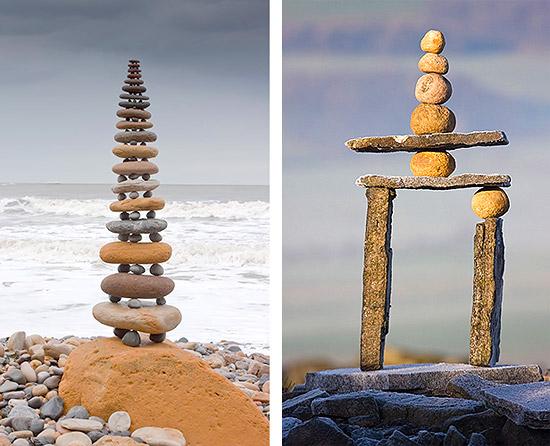 Ленд арт поделки из камней своими руками
