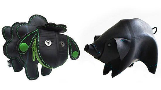 Поделки игрушки животные из мусора