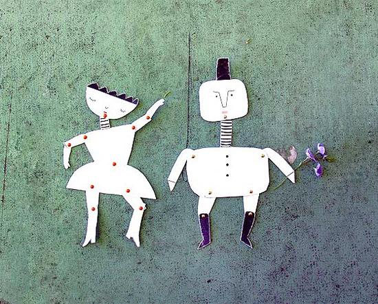 Куклы из бумаги своими руками