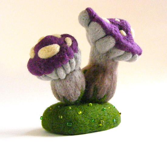 Интересные и необычные игрушки из войлока своими руками
