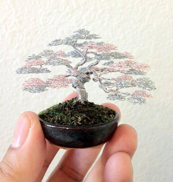 Дерево из проволоки