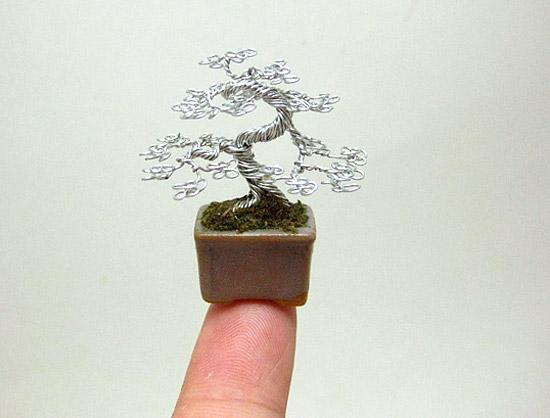 Деревья из проволоки своими руками