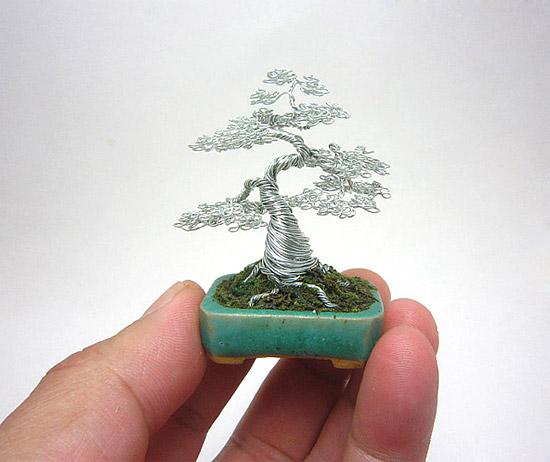 Как сделать из проволоки дерево