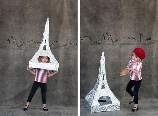 карнавальный костюм на тему Парижа