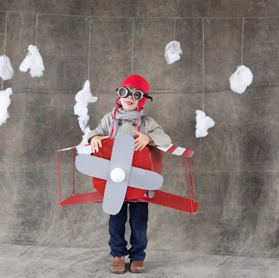 маскарадные костюмы летчика своими руками
