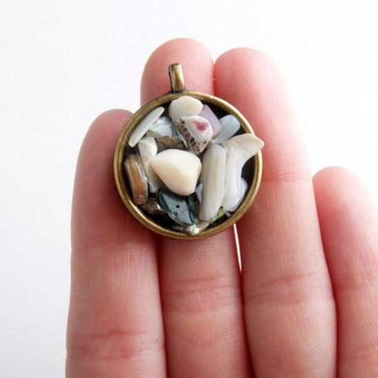 Подвески из камня своими рук