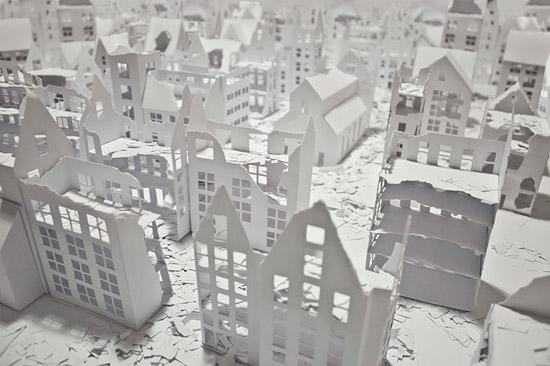 объемное конструирование из бумаги