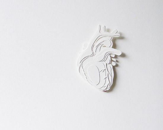 поделки аппликация из бумаги сердце