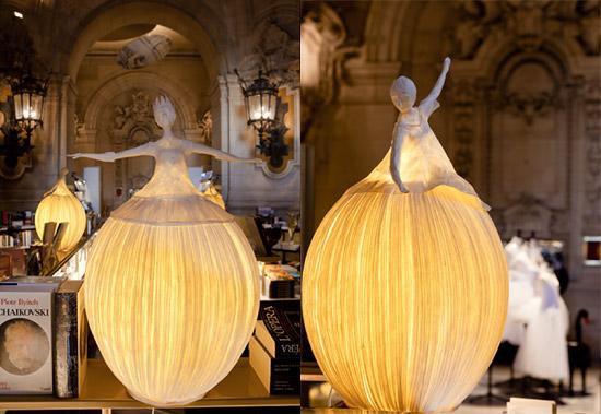 куклы лампа из папье маше