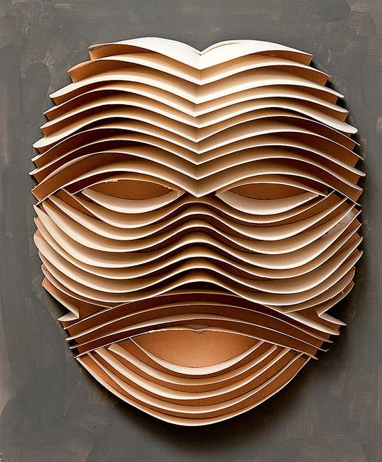 маски из бумаги