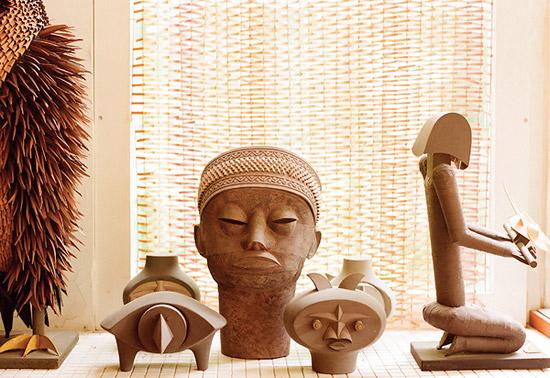 африканские маски из бумаги