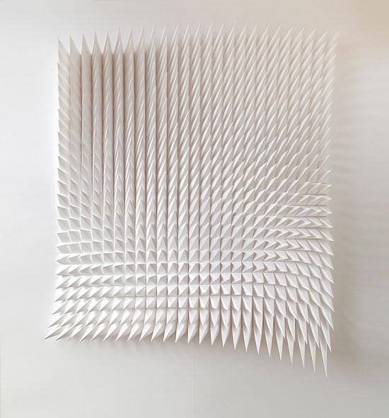 объемное панно из бумаги