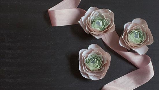 объемные цветы лютики из бумаги своими руками