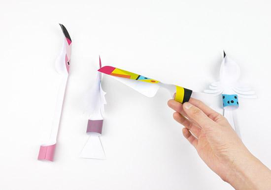 поделки детские птицы своими руками из бумаги