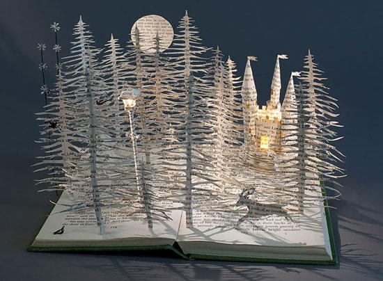 красивые поделки из бумаги к сказке Хроники Нарни