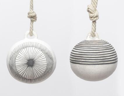 Новогодние шары в этно стиле