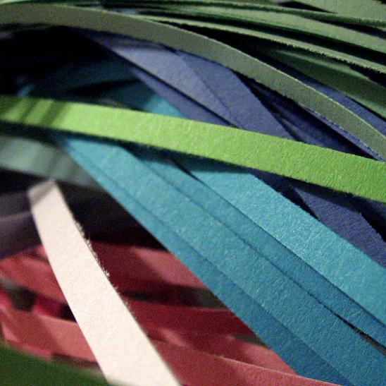 плетение из полосок бумаги