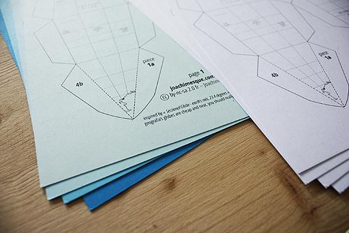 глобус своими руками из бумаги