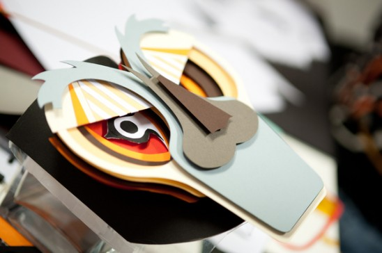 Как сделать из бумаги маску