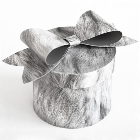 Как сделать бантик из бумаги